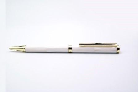 Bút Pearltalk phổ thông form 1 (thân nhỏ) - màu trắng đục