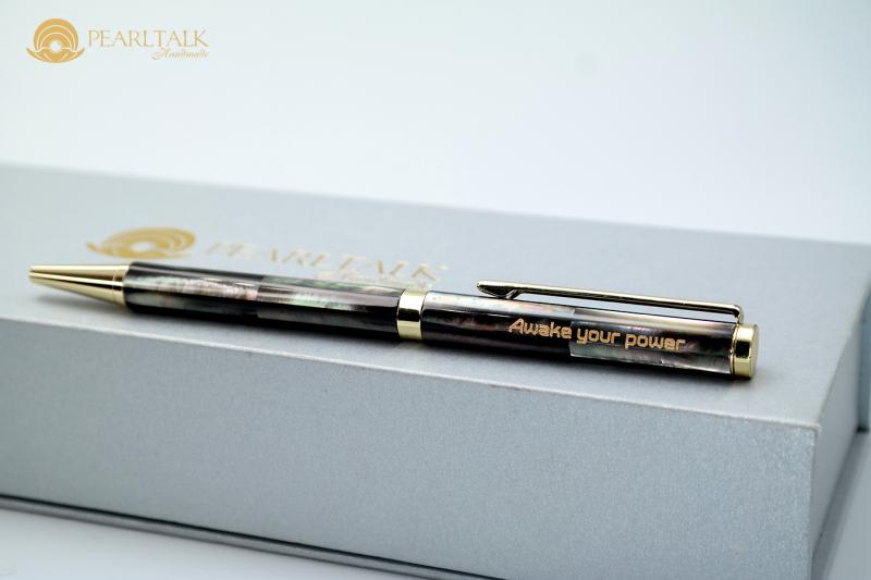 Bút Pearltalk phổ thông form 1 (thân nhỏ) - màu đen