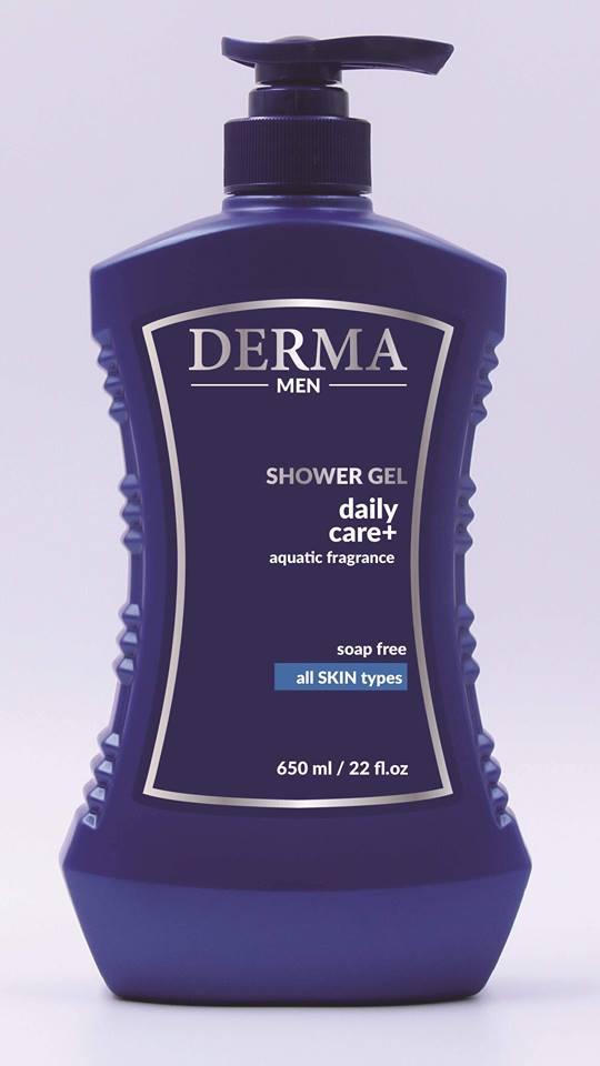 Sữa tắm nam - Derma Men-All Skin-Soap Free