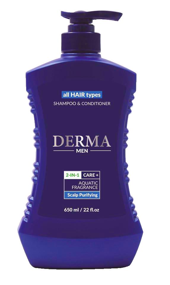 Dầu gội nam - Derma Men-All Hair-Scalp purifying