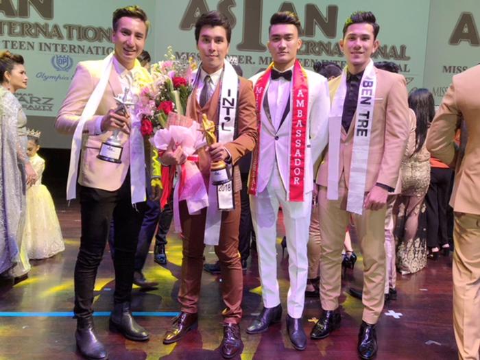 Hoàng Phi Kha xuất sắc nhận cú đúp giải thưởng tại Mister Asian International 2018