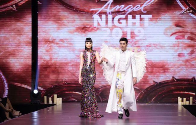 Hoàng Phi Kha gây ấn tượng trong show thời trang Angel Night