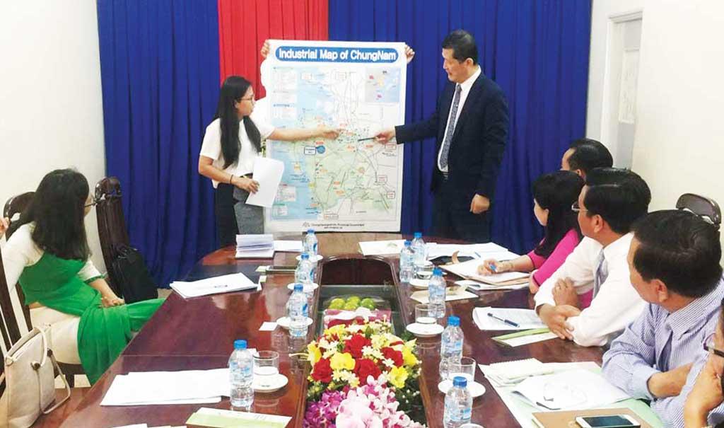 Đẩy mạnh hợp tác giữa Long An và Hàn Quốc