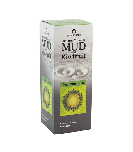 MẶT NẠ BÙN NHIỆT & KIWI – ROTORUA THERMAL MUD MASK WITH KIWIFRUIT – 150G
