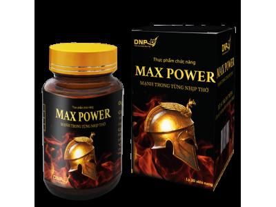 MAX POWER - MẠNH TRONG TỪNG NHỊP THỞ