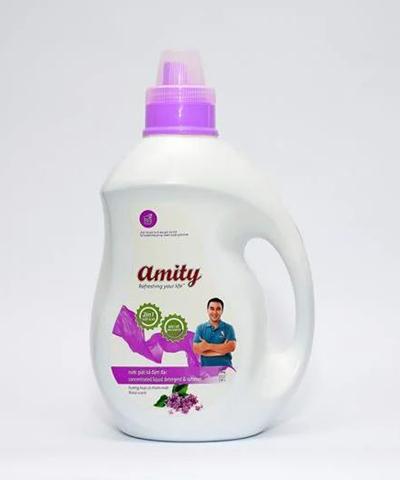 Nước giặt, xả Amity 2 trong 1 nhãn tím 2.0kg