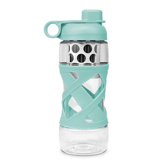 Bình lọc nước cá nhân (màu xanh lam) - Aquasana USA - Made in USA