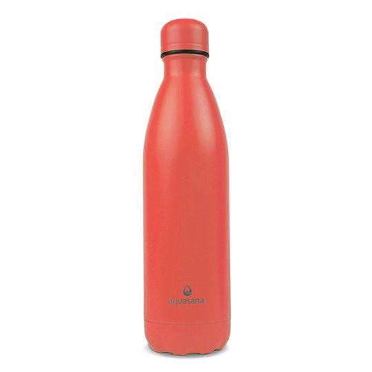 Bình nước giữ nhiệt 2 lớp 750ml (màu đỏ) - Aquasana USA - Made in USA