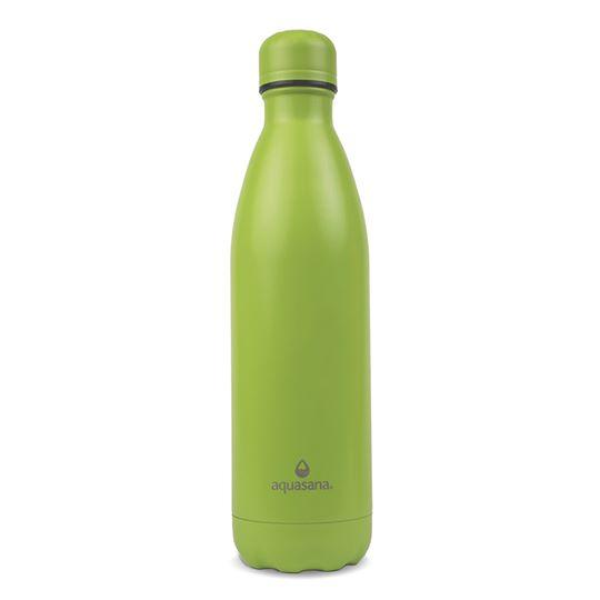 Bình nước giữ nhiệt 2 lớp 750m (màu xanh lá) - Aquasana USA - Made in USA