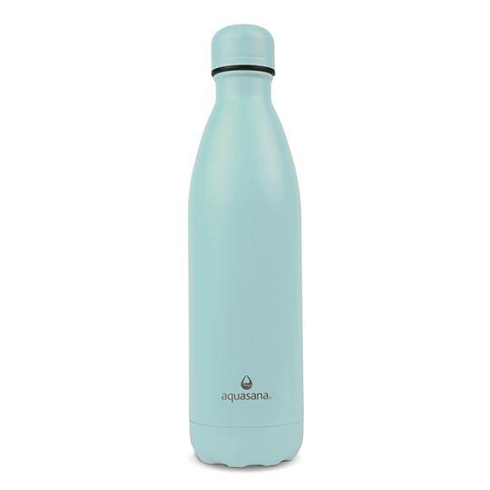 Bình nước giữ nhiệt 2 lớp 750ml (màu xanh lam) - Aquasana USA - Made in USA