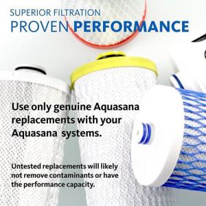Lõi lọc máy lọc nước để bàn (2 cái) - Aquasana USA - Made in USA