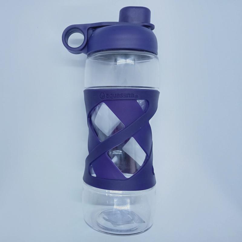 Bình đựng nước cá nhân (không kèm lõi lọc) màu Tím - Aquasana USA - Made in USA