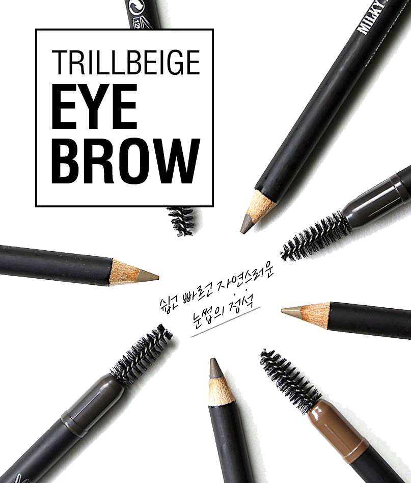 CHÌ KẺ MÀY MILKY DRESS EYEBROW (GRAY BROWN) DSMWBM426