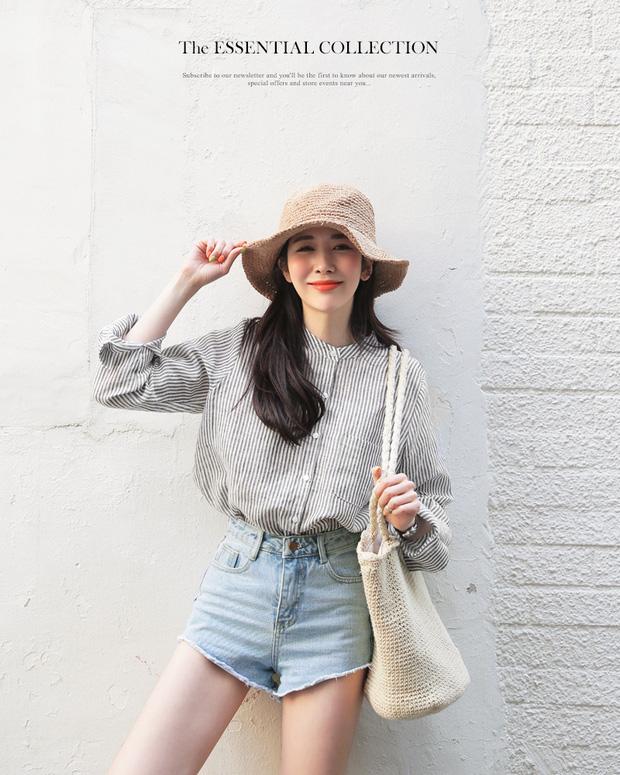 Mùa hè nhất định phải mặc jean shorts rồi, mix thế nào cũng đẹp ngất ngây thế này kia mà!
