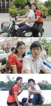 Hoài Linh 'cặp bồ' với gái trẻ Thanh Trúc