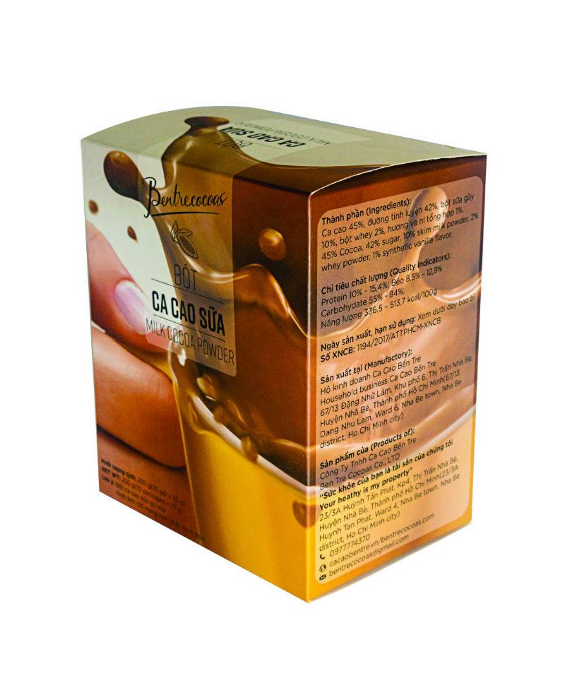 Bột cacao sữa gu vừa - Bến Tre
