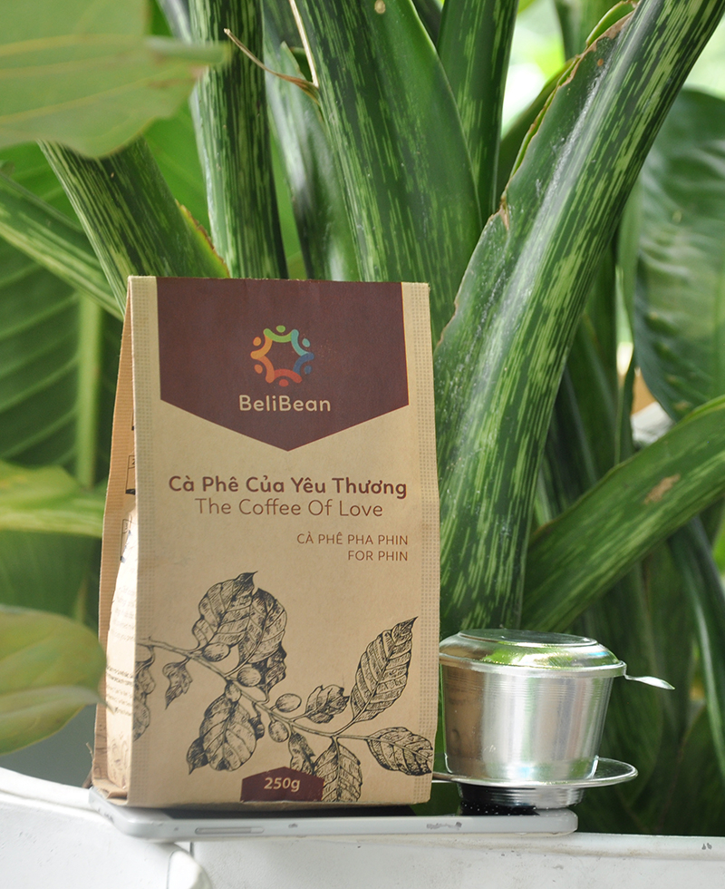 Cà phê bột Beli Bean - Đắk Lắk