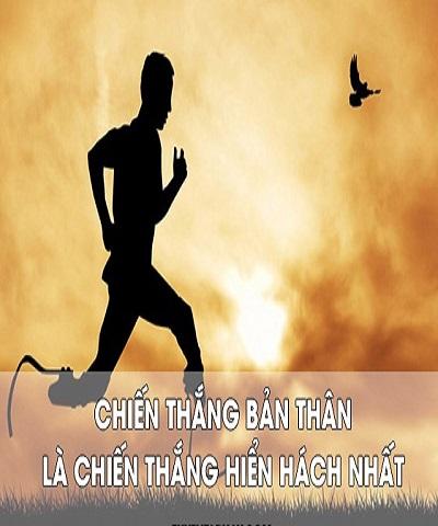 Người chiến thắng không phải là người mạnh nhất mà là người không bỏ cuộc.